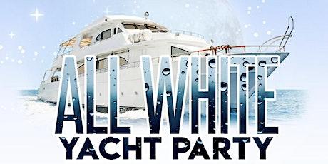 PrettyUno's All white Yacht Birthday Bash tickets