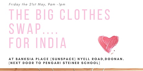 The Big Clothes Swap for India tickets