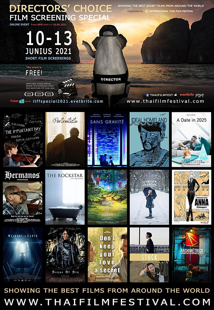 FILM SCREENINGS - Directors' Choice Special by ITFF image
