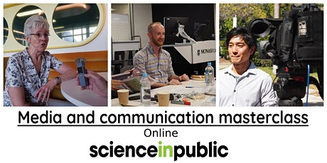 Media and communication masterclass (July - online) tickets