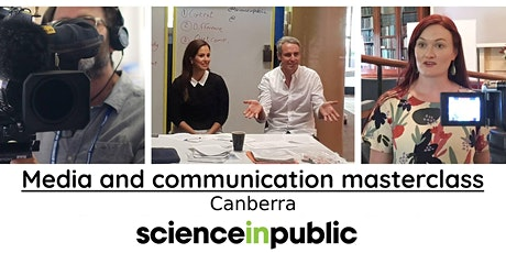 Media and communication masterclass (July - Canberra) tickets