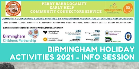 Birmingham Holiday Activities 2021 - Info Session tickets