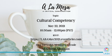 A La Mesa - A Critical Conversation tickets