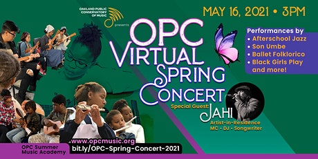 Oakland Public Conservatory of Music Annual Spring Concert tickets