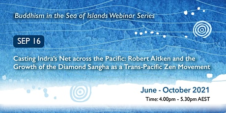 Buddhism in the Sea of Islands Webinar Series - September webinar tickets