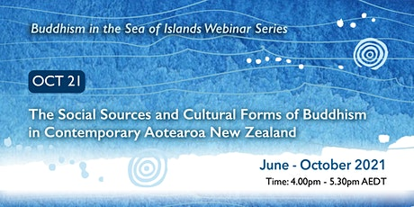 Buddhism in the Sea of Islands Webinar Series - October webinar tickets