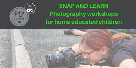 Snap and Learn - Photography Course For Home Educa tickets