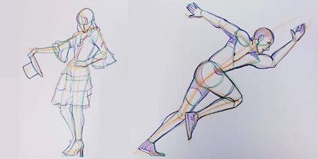 Figure Drawing 1 (13+) Art Intensives for Teens tickets