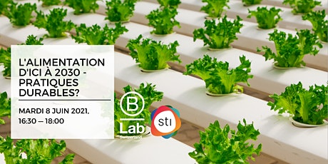 L'alimentation d'ici à 2030: pratiques durables? - STI Thematic Event - FR billets