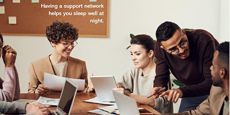 Who helps you grow your career or business - are you up at night worrying? tickets