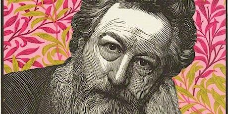 William Morris: Pattern Design (with linocut) tickets