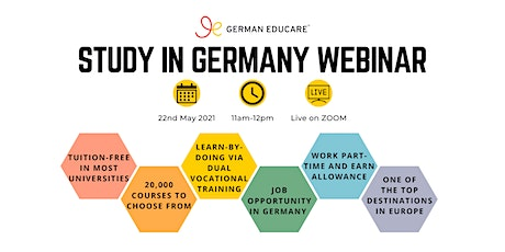 World Class Education - Study in Germany Webinar tickets