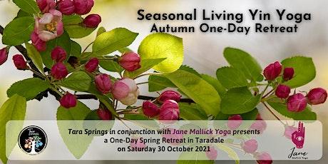 Seasonal Living Yin Yoga Spring: One-Day Retreat tickets