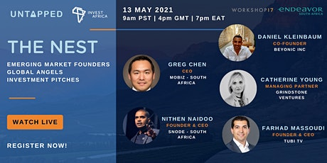 The Nest featuring South African Startups Going Global: Snode Tech & Mobiz tickets