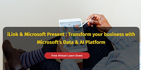 MS Webinar: How to be a Successful your business with DATA & AI Platform tickets