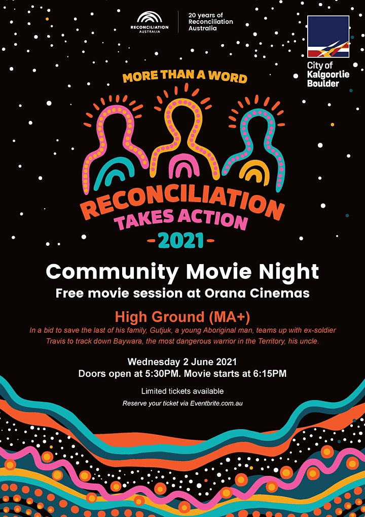 Reconciliation Week Community Movie Night image