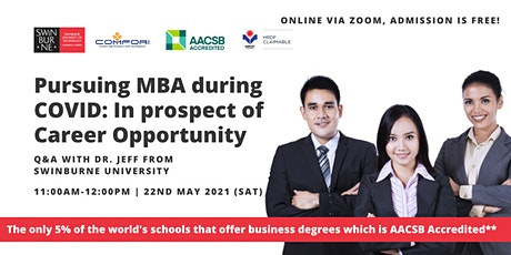 Pursuing MBA during COVID: In prospect of Career Opportunity tickets