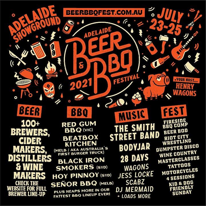 Adelaide Beer & BBQ Festival 2021 image