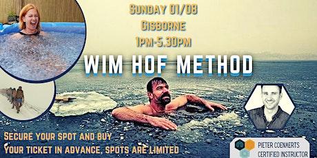 Wim Hof Method course @ Gisborne tickets