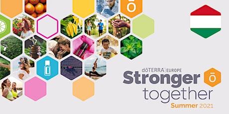 dōTERRA Central Europe Grand Summer Tour Online 2021 - Hungary tickets