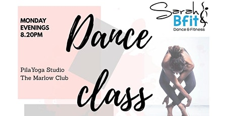 Copy of Bfit Classes with Sarah - DANCE Monthly Membership August 2021 tickets