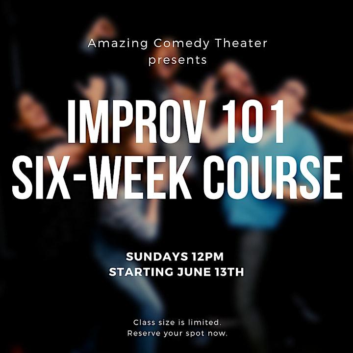 Improv 101 Six-Week Course - Sundays image