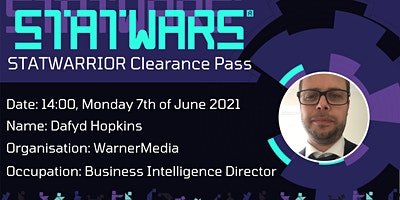 STATWARRIOR Interview: Dafyd Hopkins from WarnerMedia