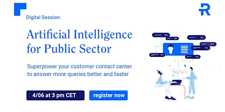 Artificial Intelligence for Public Sector tickets