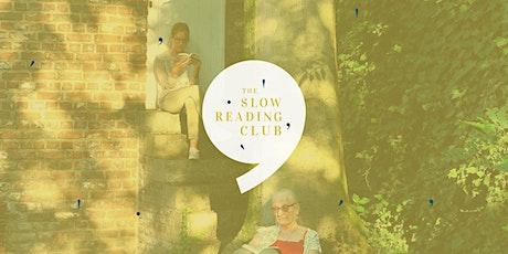Slow Reading chez Les Voisines - 3 ans du Club ! billets