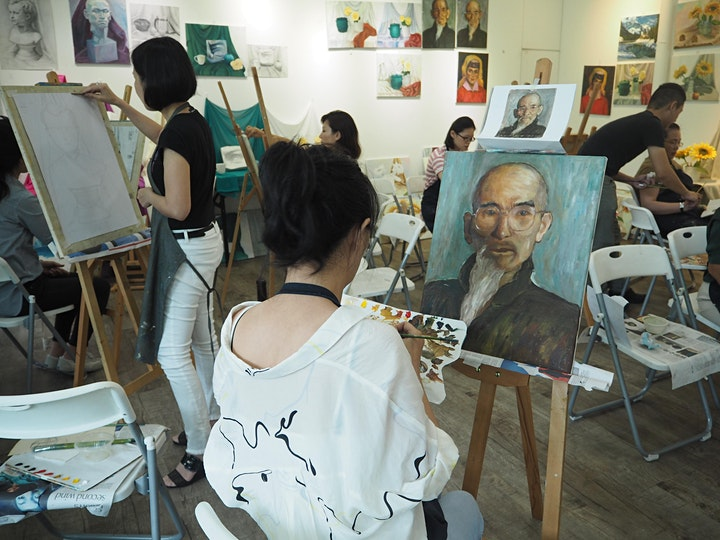 SPECIAL PROMO: Professional Oil Painting 12 Sessions专业油画课程12节课-AZ@PAYALEBAR image