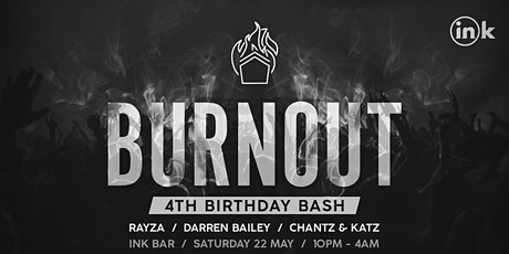 Burnout 4th Birthday tickets