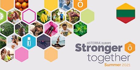 dōTERRA Stronger Together Summer 2021 – Lithuania tickets
