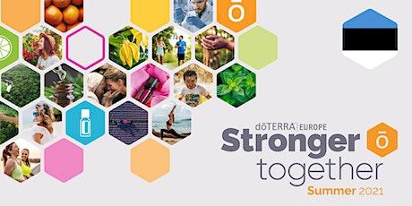 dōTERRA Central Europe Grand Summer Tour Online 2021 – Estonia tickets