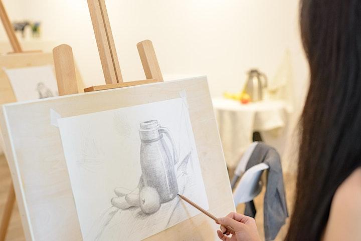 SPECIAL PROMO: Drawing & Sketching 24 Sessions 专业素描24节课程 – AZ @ PAYA LEBAR image