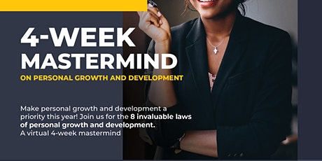 PERSONAL GROWTH AND DEVELOPMENT MASTERMIND tickets