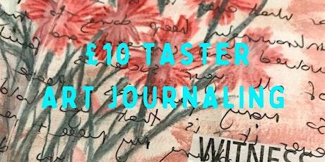 £10 Taster Creative Art Journaling tickets