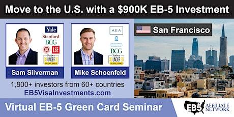 U.S. Green Card Virtual Seminar – San Francisco, US entradas