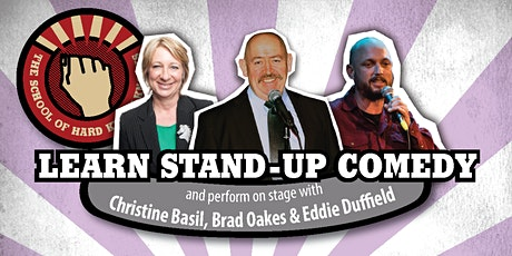 Learn stand-up comedy in Melbourne this June with Brad Oakes tickets