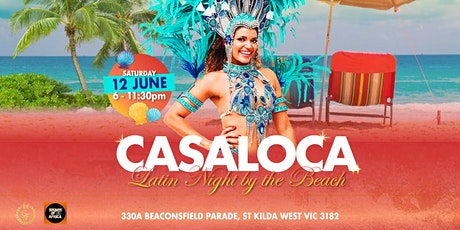 Casaloca Latin Night by the Beach | Long Weekend tickets