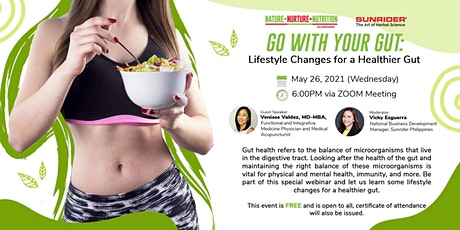 Go with Your Gut: Lifestyle Changes for a Healthier Gut tickets