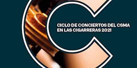 Recital Alumnos/as del Dep.  de Viento - Metal . del CSMA entradas