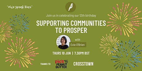 NZBWN 12th birthday: Supporting communities to prosper tickets