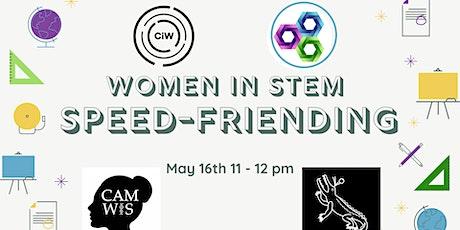 Women in STEM Speed-Friending tickets