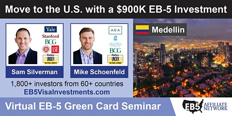 U.S. Green Card Virtual Seminar – Medellin, Colombia tickets
