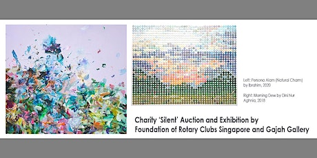 Charity 'Silent' Auction and Exhibition by FRCS and Gajah Gallery tickets