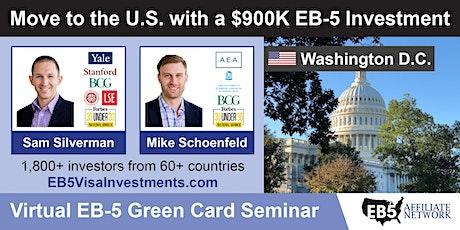 U.S. Green Card Virtual Seminar – Washington D.C., US tickets