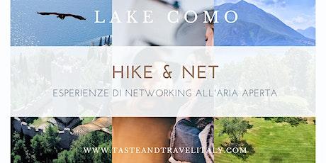 """TREKKING & BUSINESS NETWORKING:""""IL SENTIERO DEL VIANDANTE""""(BELLANO/VARENNA) biglietti"""