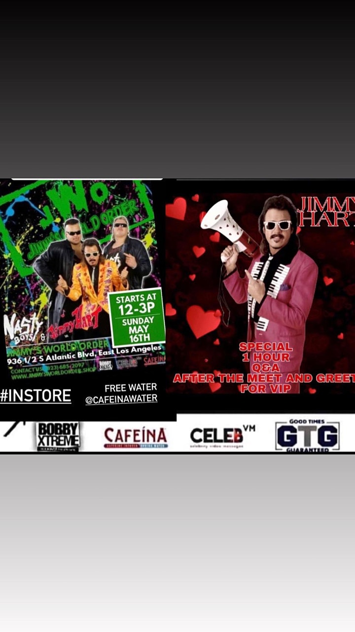 """The """"Mouth of the South"""" Jimmy Hart Meet and Greet image"""