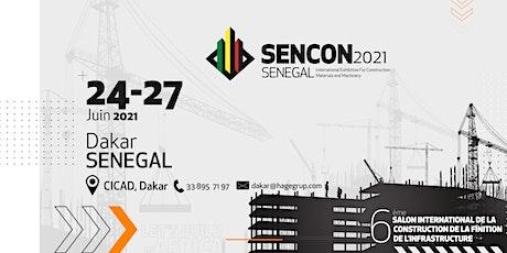 Sencon 2021 - Salon de BTP et Forum des Énergies Renouvelables billets