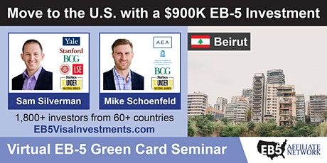 U.S. Green Card Virtual Seminar – Beirut, Lebanon tickets